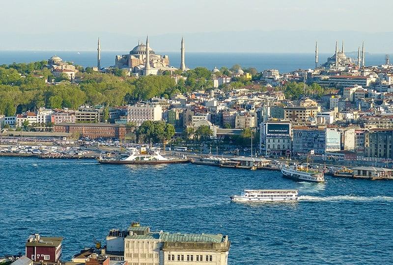Bosphorus Boat Cruise in Istanbul, Turkey