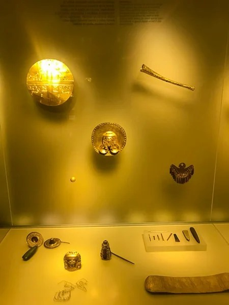 The Gold Museum is home to a collection of ancient artifacts that sheds light on how pre-Colombian societies lived. It's one of the top things to do in this Bogotá travel guide.