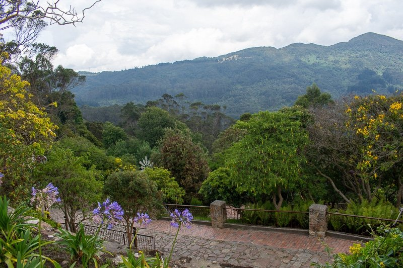 Travel guide tip: Monserrate is a must-see attraction in Bogota, Colombia.