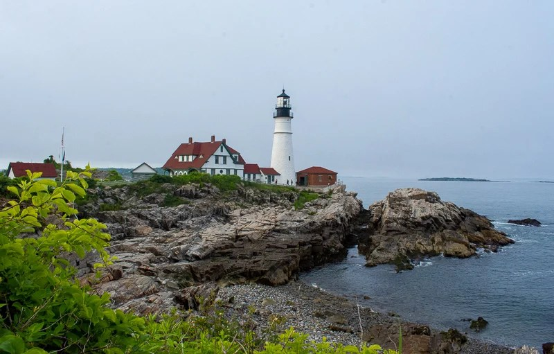 Portland Head is among the most iconic lighthouses in New England.