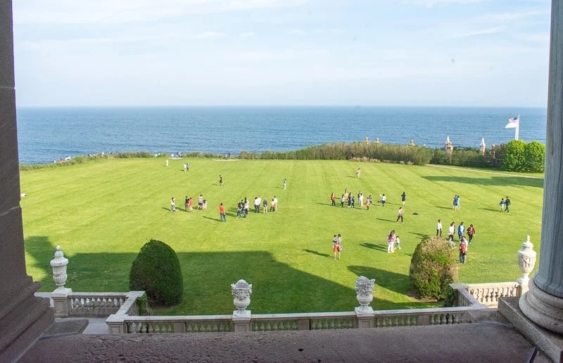 This 70-room, Italian Renaissance-style mansion has stunning views of the Atlantic Ocean. This area is a best place to spend a weekend getaway in New England.