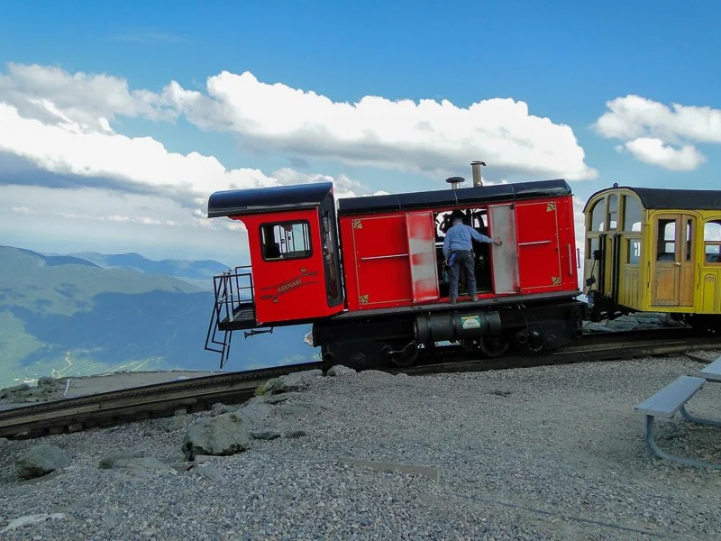 The Cog Railway brings you up the mountain, where you'll have sweeping views of the landscape.