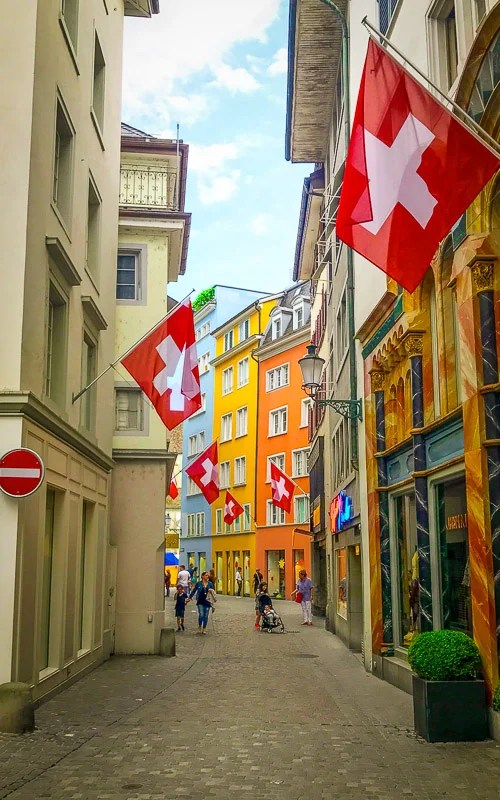 Zürich is a pricey destination, but you get what you pay for: a cool city with lots of culture and stunning views.