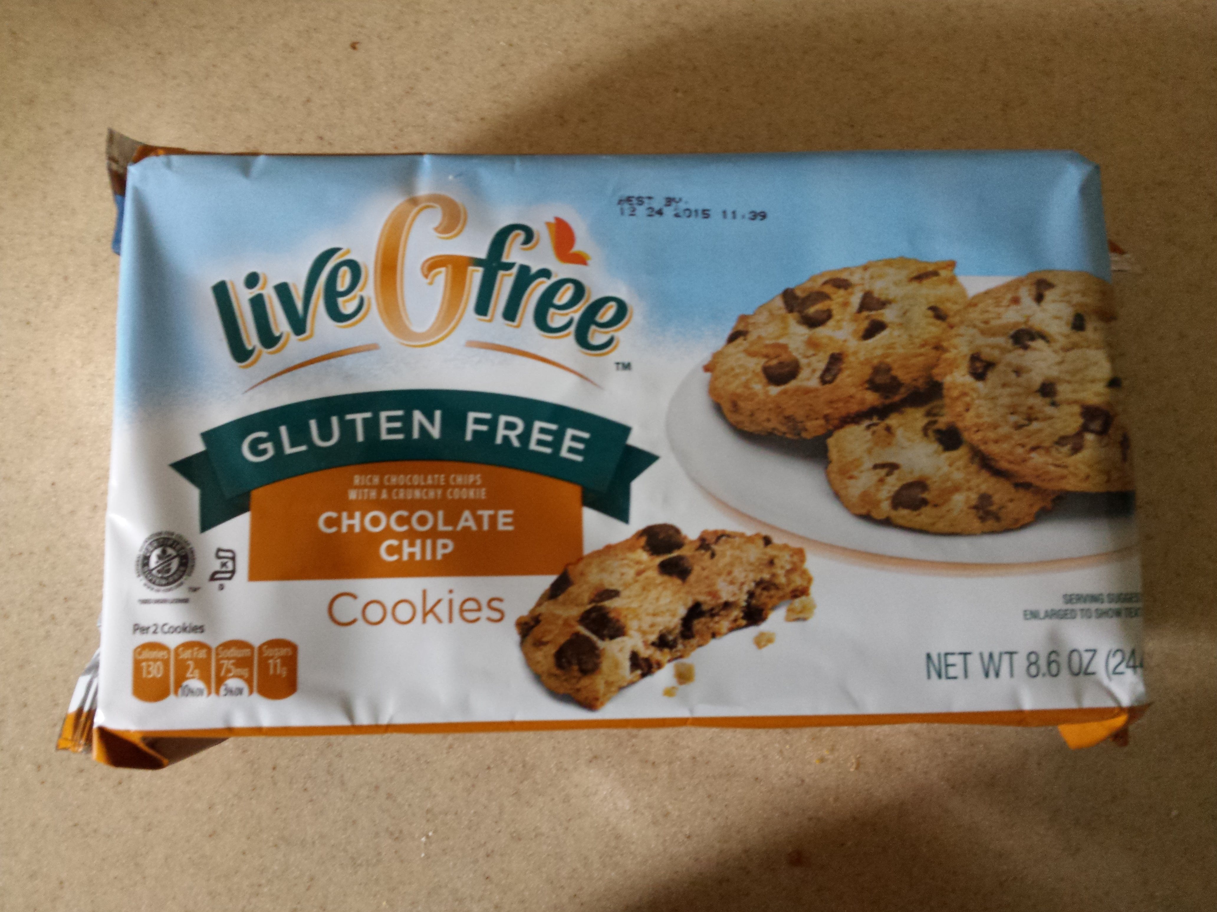 Aldi's Live G-Free Chocolate Chip Cookies - My Gluten Free Miami