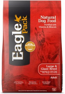 17 Best Dog Foods for Golden Retrievers & Puppies. Eagle Pack Chicken and Pork Adult Large and Giant Breed.