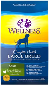 17 Best Dog Foods for Golden Retrievers & Puppies. Wellness Complete Health Large Breed Adult.