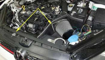 Engine Compartment Commute Temperatures - Part 4 | My Golf Mk7 GTI