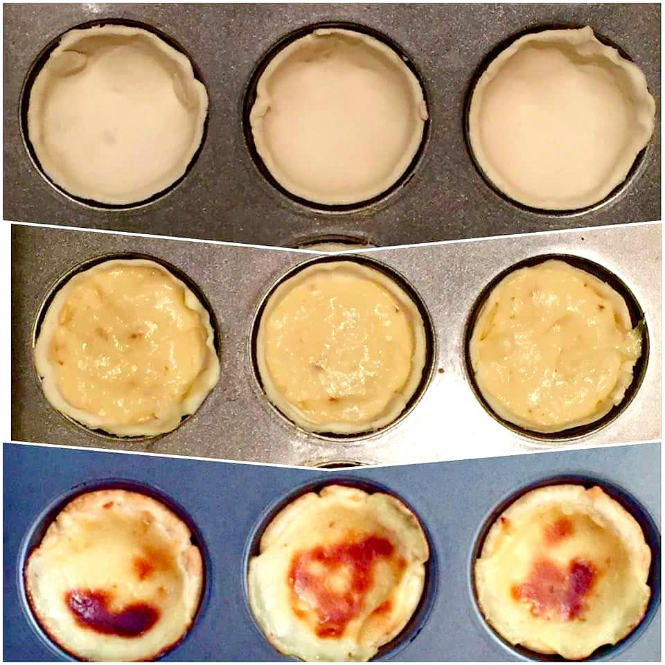 How to make portuguese natas itsallaboutportugesedeserts - Pasteis De Nata