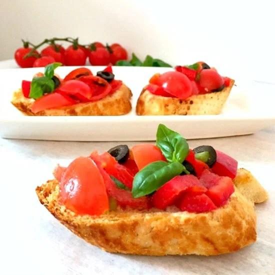 Italian bruschetta recipe Italian bruschetta recipe