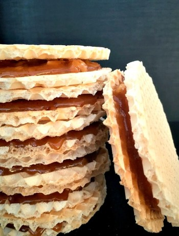 Caramel wafers recipe