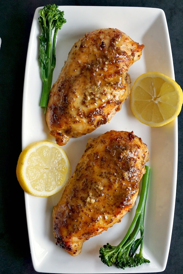 Baked Honey Mustard Chicken Breast with a Touch of Lemon ...
