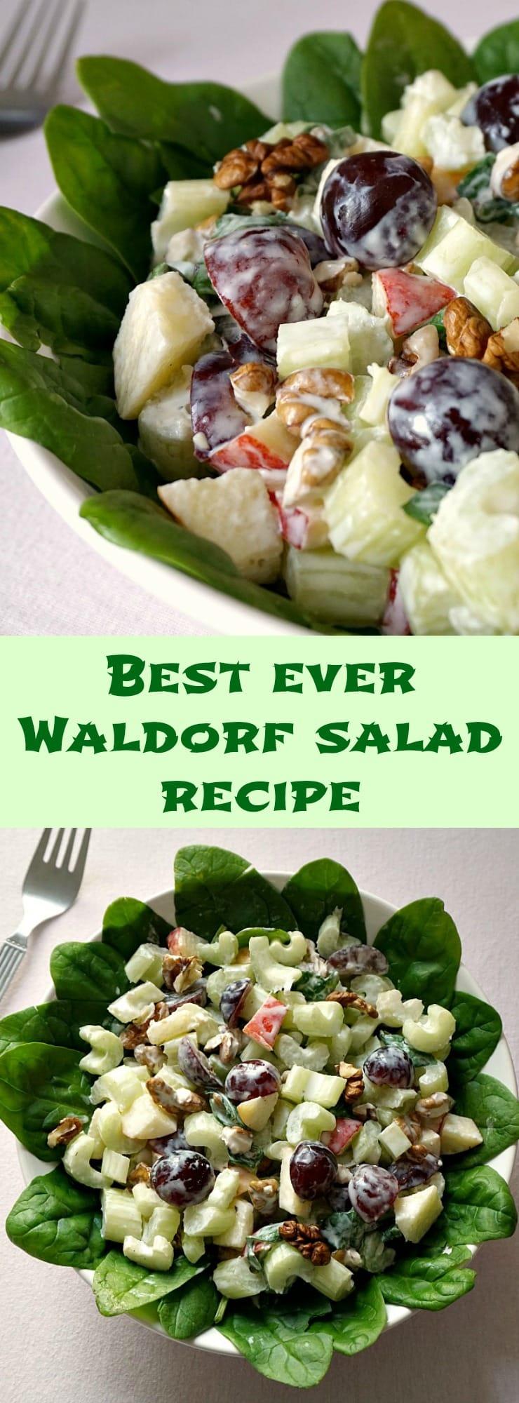Best Waldorf Salad Recipe