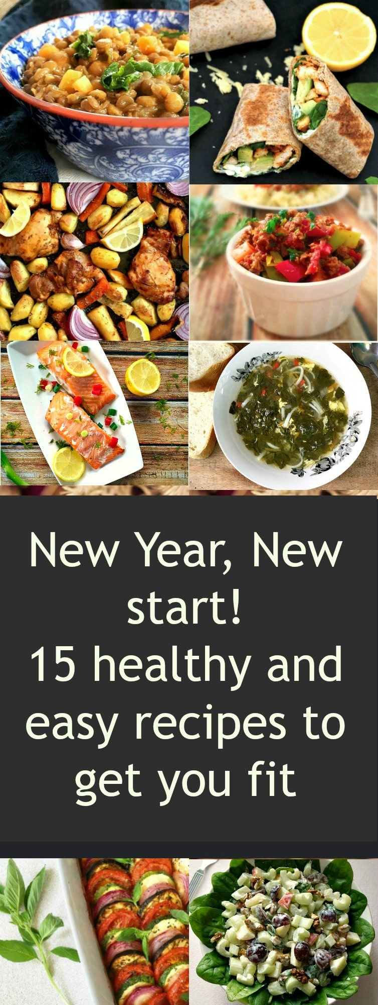 New Year, New Start! 15 healthy andeasy recipes to get you fit