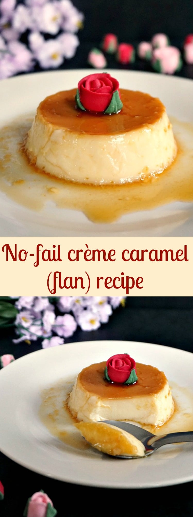 No-fail crème caramel (flan) recipe