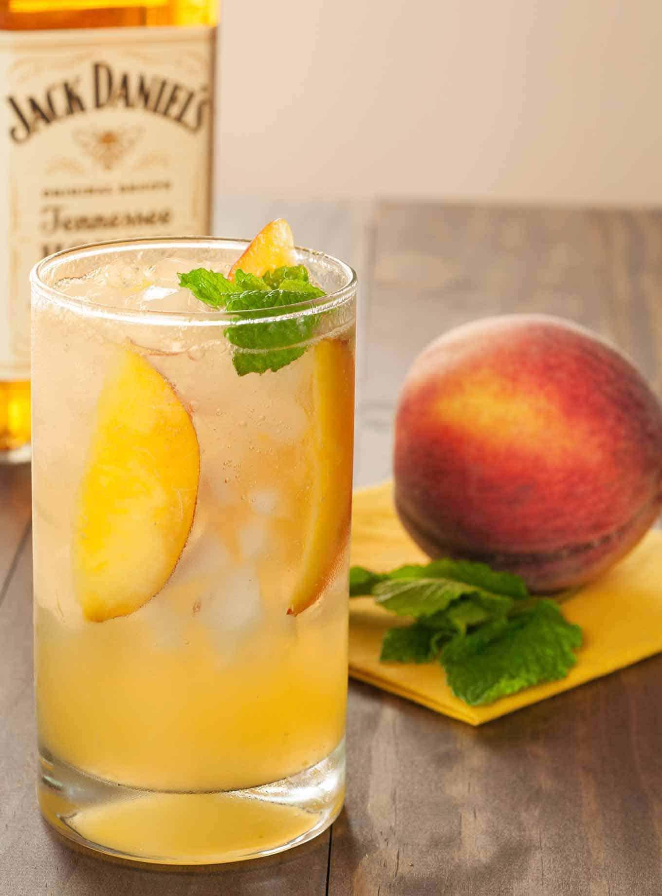 Honey Peach Fizz Recipe Mygourmetconnection