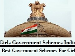 Girls Government Schemes India