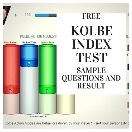 free-kolbe-test-samples