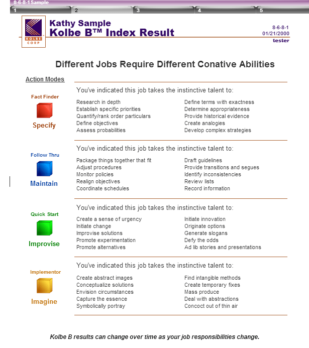 kolbe-b-index-result-sample