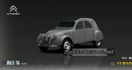 Citron 2CV Type A 54 Gran Turismo 5