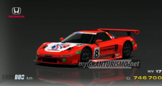 Honda ARTA NSX 00 Gran Turismo 5