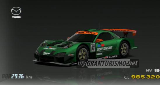 Mazda RX 7 LM Race Car Gran Turismo 5