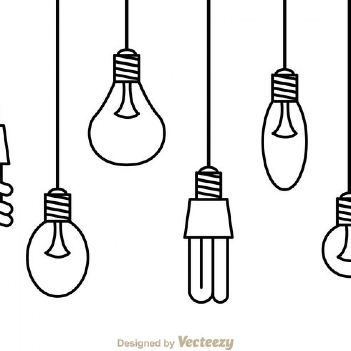 Free Vector Hanging Light