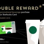 Free double reward Starbucks points Giveaway!