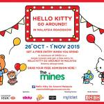FREE Hello Kitty Go Around Bouncy play ground entry ticket, pre-event roadshow at the Mines!