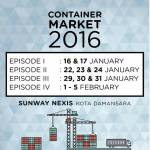 The First Container Concept Flea Market in Malaysia!