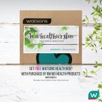 FREE Watsons Health Box worth RM174 Giveaway!
