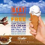 FREE Sangkaya Cone Coconut Ice Cream Giveaway!