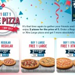 Domino's Buy 1 FREE 1 Deal Is Back Again!