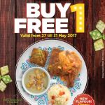 Kenny Rogers ROASTERS Buy 1 FREE 1 Deal!