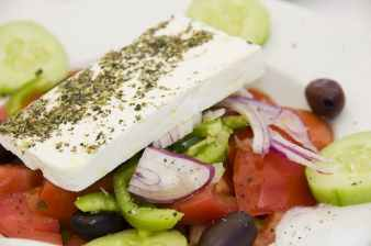 Greek Salad with Feta cheese (Xoriatiki)2