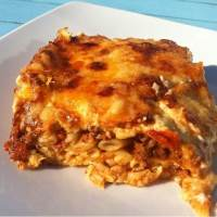 Greek Pastitsio recipe (Baked Greek Lasagna with Meat Sauce and Béchamel)