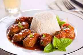 Traditional Soutzoukakia recipe (Greek baked Meatballs in tomato sauce)
