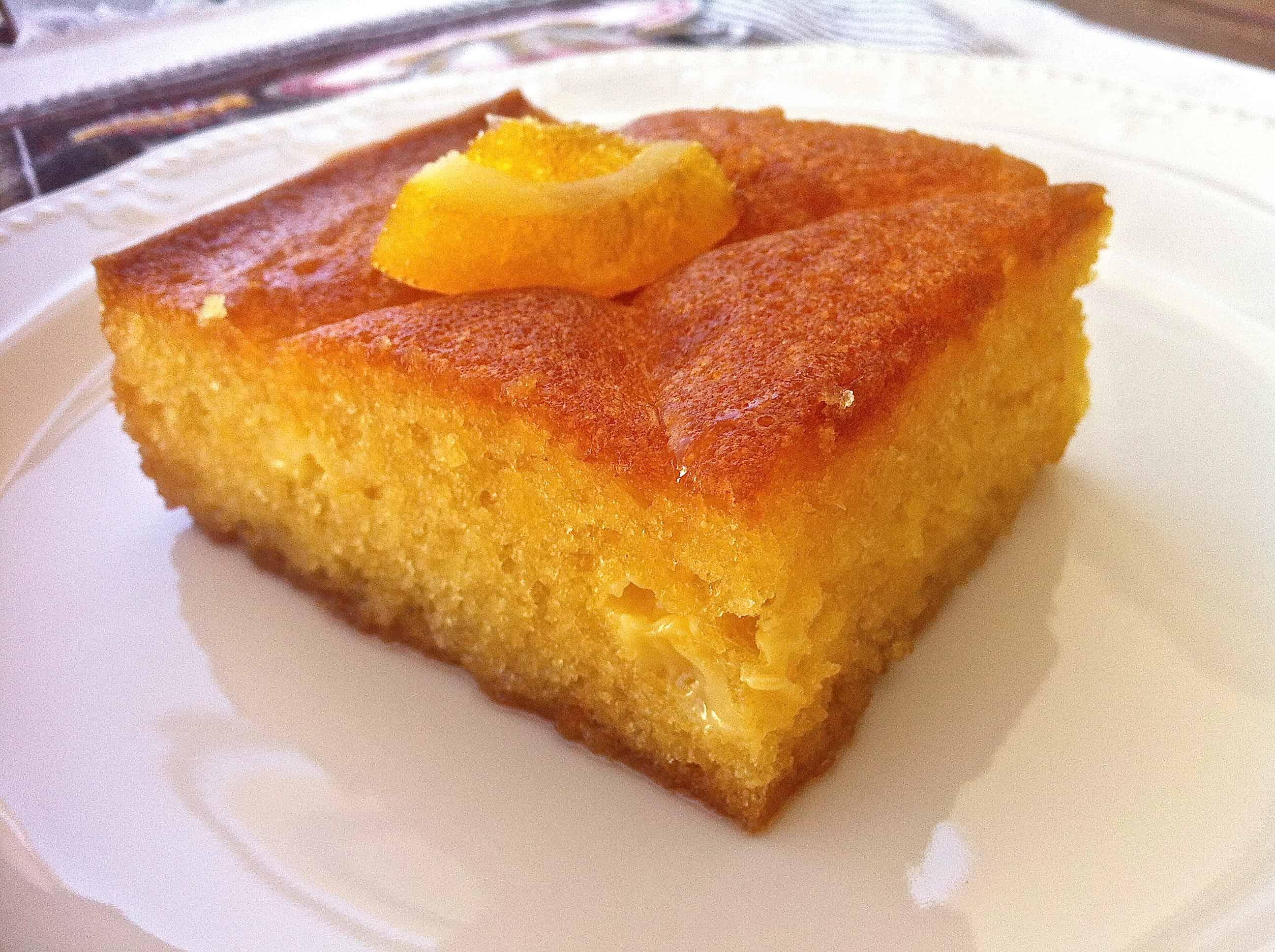 Lemon Greek Yogurt Cake Recipe