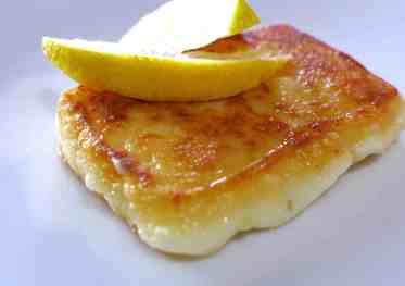 Greek Saganaki recipe (Pan-seared Greek cheese appetizer)