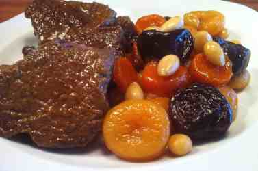 Amazing Christmas Veal with Fruit & Nut