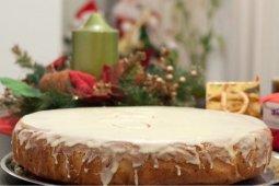 Vasilopita Cake (Greek New Year's cake)