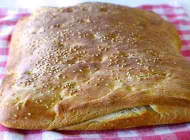 Traditional Lagana Bread recipe (Greek Clean Monday Bread)-1