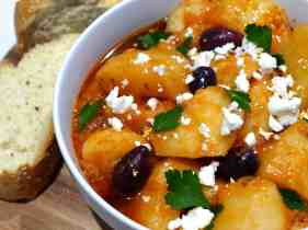Greek Potato stew recipe (Patates yahni)