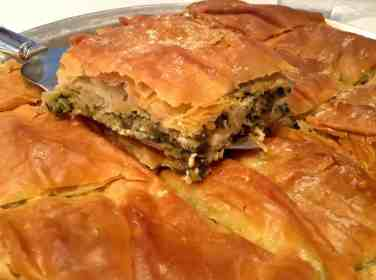 Traditional Spanakopita recipe -1
