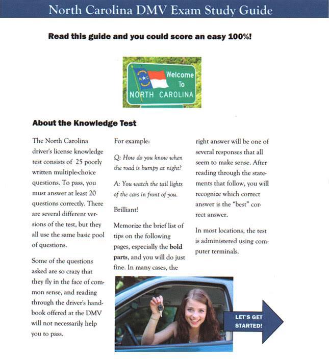 NC-DMV-Exam-Study-Guide