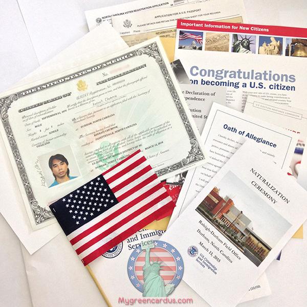 เรื่องเล่าวันพิธีสาบานตน U S Citizenship Oath Ceremony