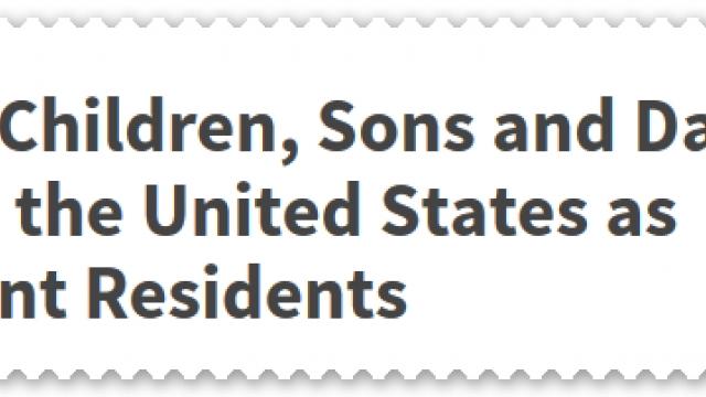 ตัวอย่างเตรียมเอกสาร วีซ่าถาวรให้ลูก ขั้นตอนแรก
