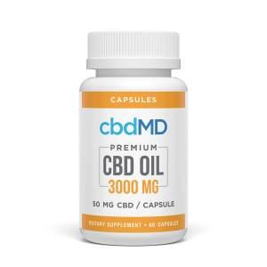cbdMD 3000 mg capsules