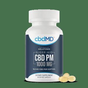 cbdMD 1000 mg sleep capsules