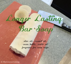 longer lasting homemade bar soap