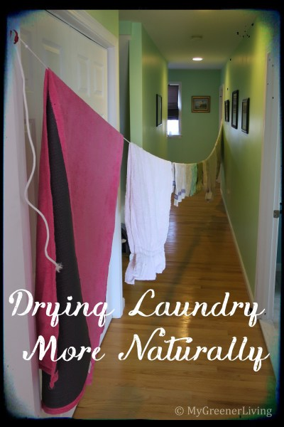 Drying Laundry More Naturally
